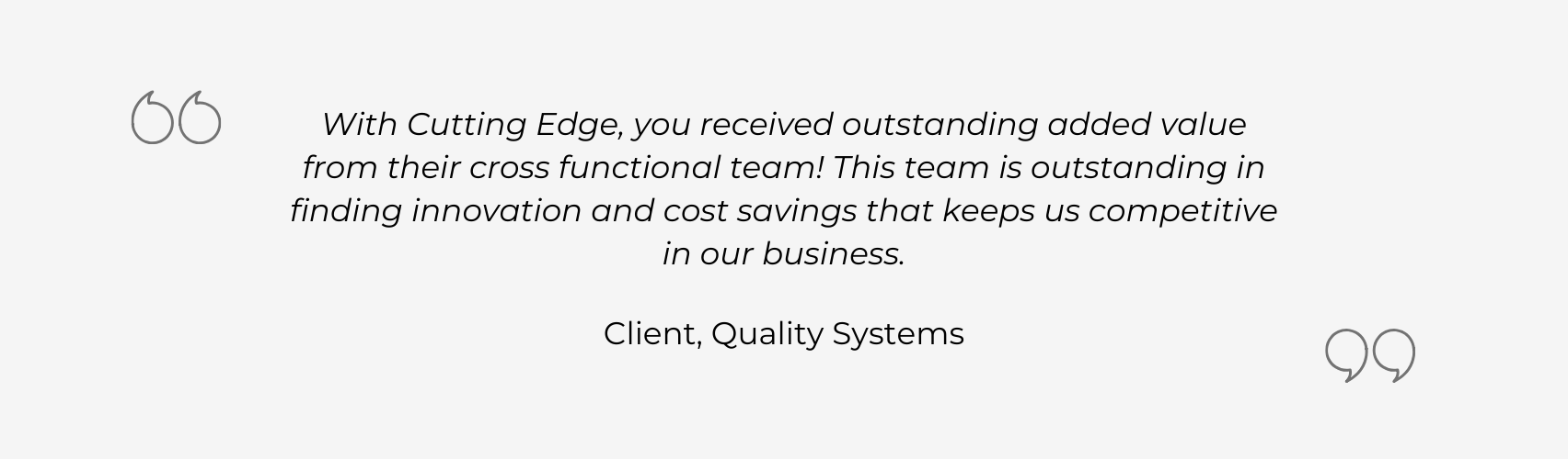 Client Review of CEMTI